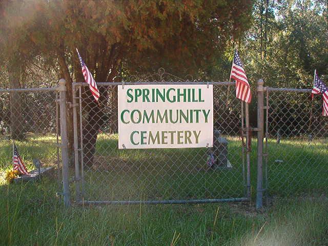 Springhill Community Cemetery