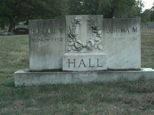Bertha M Hall