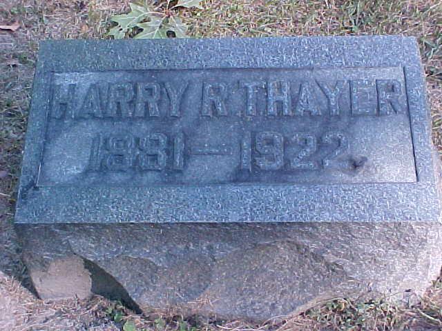 Harry Roe Thayer