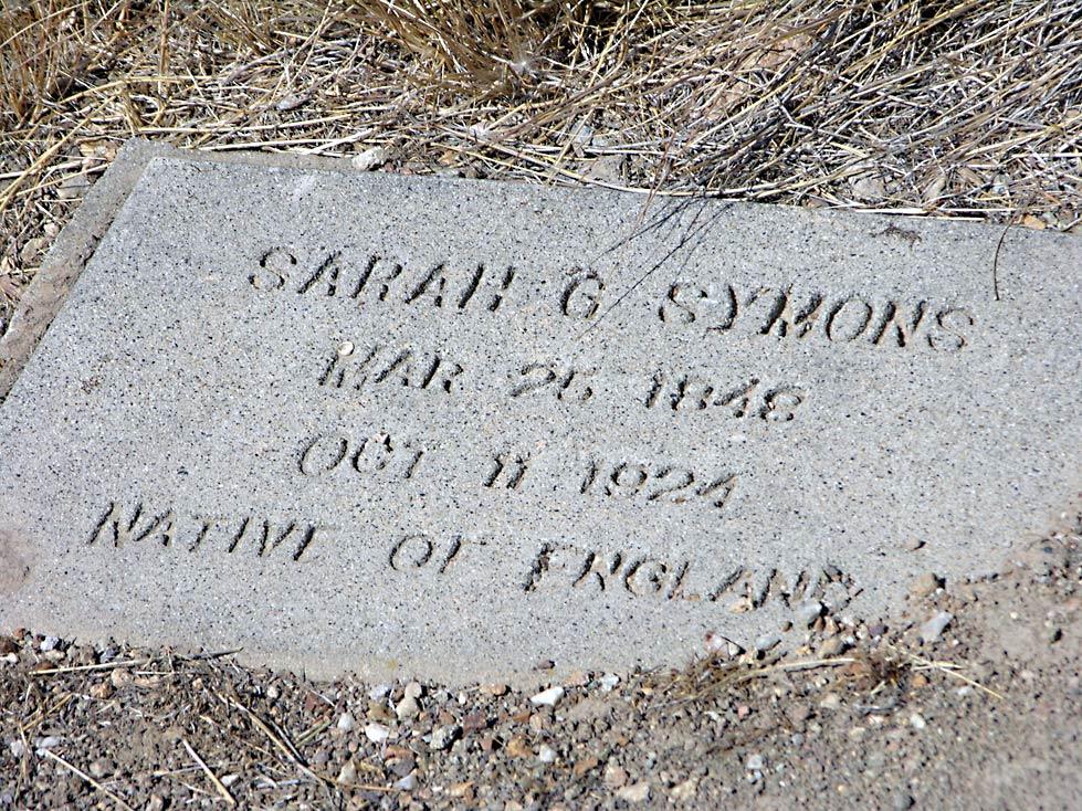 Sarah <i>George</i> Symons