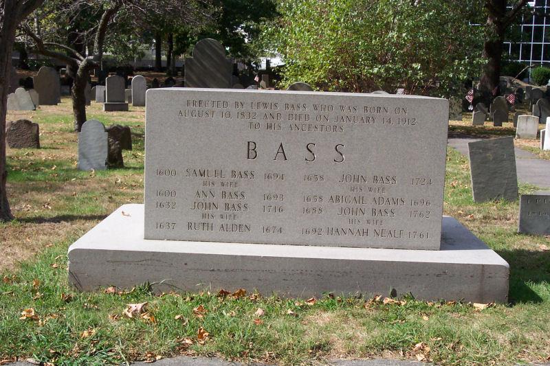 Ruth <i>Alden</i> Bass