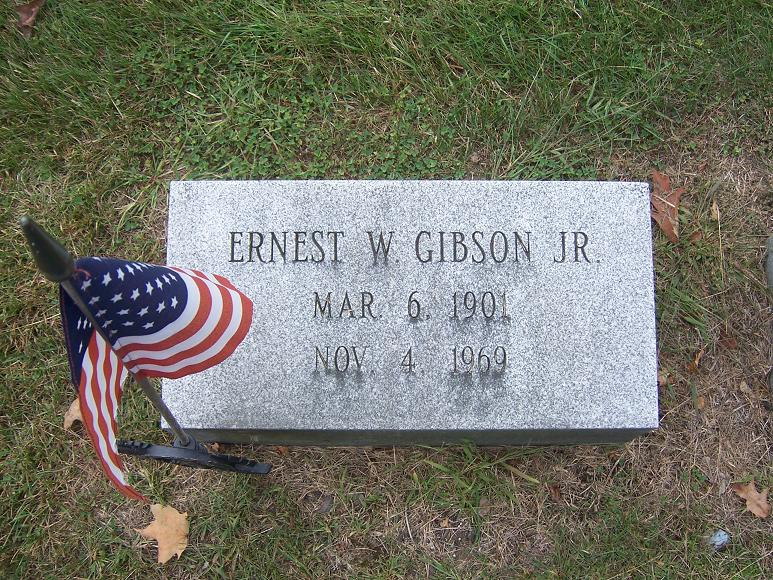 Ernest William Gibson, Jr