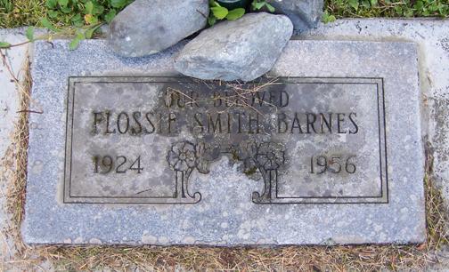 Flossie <i>Smith</i> Barnes