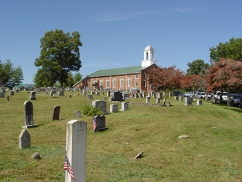 Head of Tennessee Baptist Church Cemetery