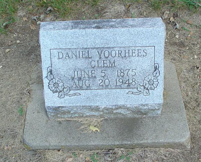 Daniel Voorhees Clem