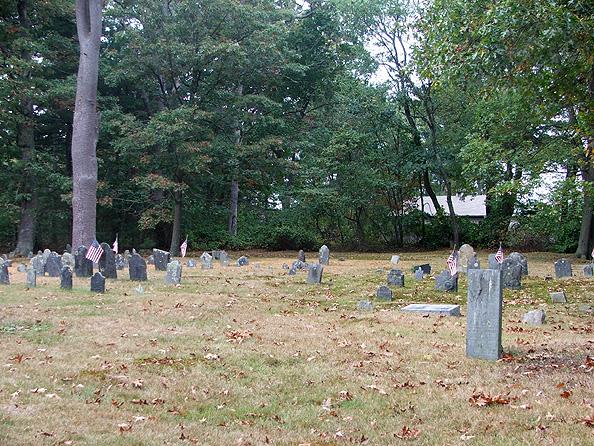 Palmer River Churchyard Cemetery