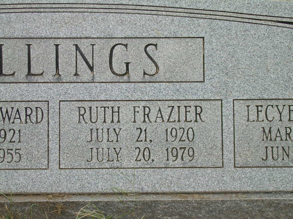 Addie Ruth <i>Frazier</i> Billings