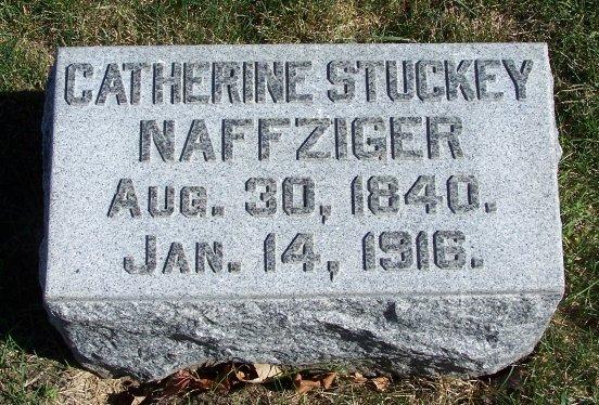 Catherine <i>Stuckey</i> Naffziger