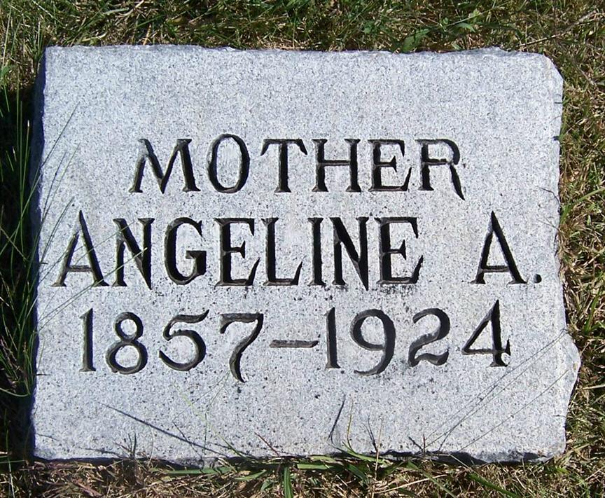 Angeline Alice <i>Harris</i> White