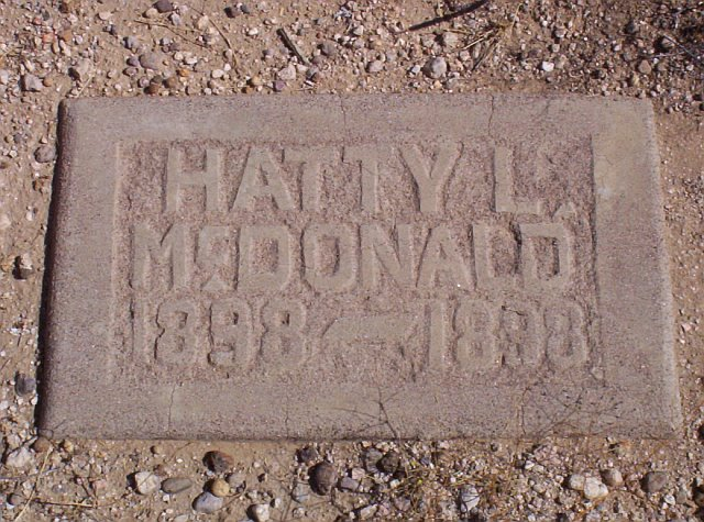 Hatty Leon Hetty McDonald