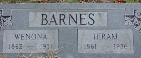 Wenona <i>Starr</i> Barnes
