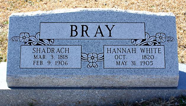 Shadrach Shade Bray