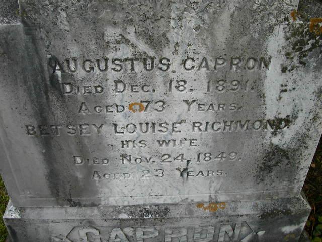 Betsey Louise <i>Richmond</i> Capron