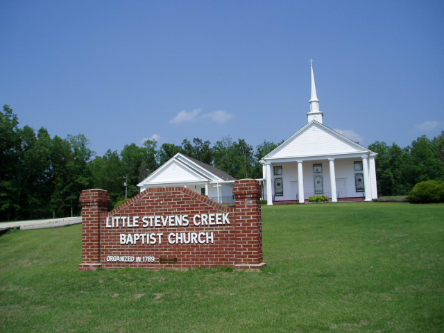 Little Stevens Creek Baptist Church Cemetery