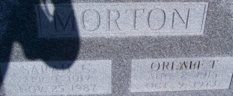 Orlaff Thomas Morton