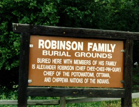 Robinson Family Burial Grounds in Norridge, Illinois - Find