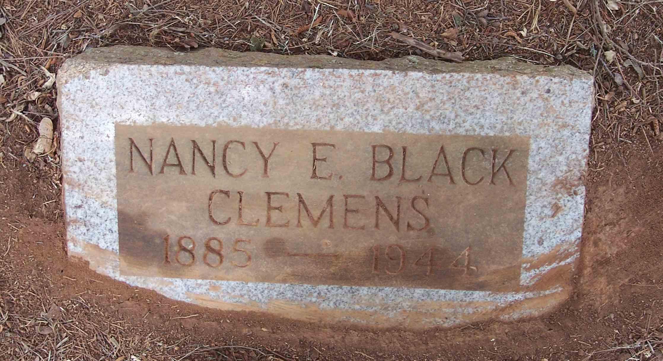 Nancy E. <i>Black</i> Clemens