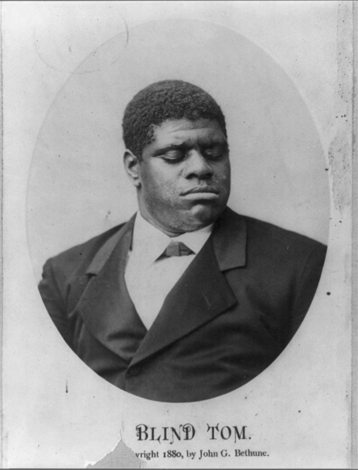 Thomas Quot Blind Tom Quot Wiggins 1849 1908 Find A Grave