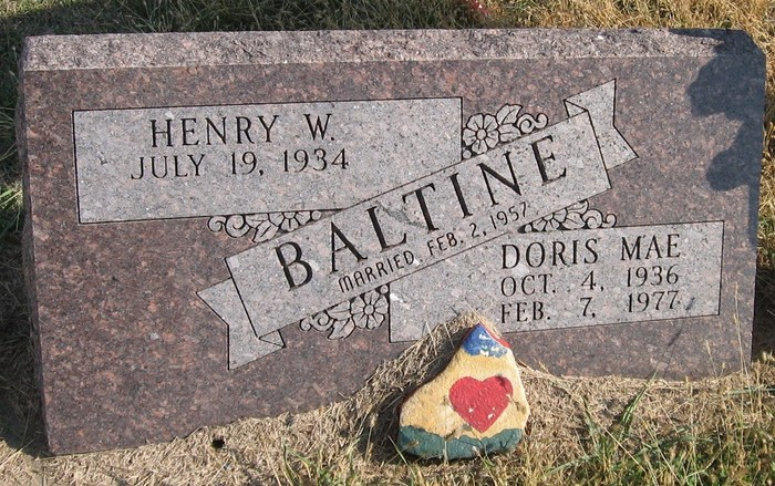 Doris Mae <i>Wenthe</i> Baltine