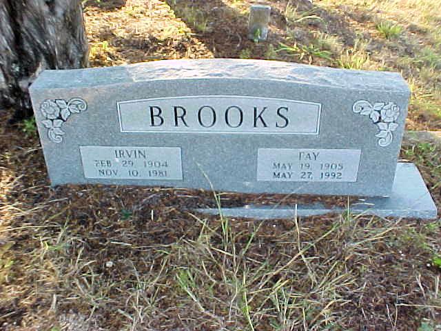 Minnie Fay <i>Cosper</i> Brooks