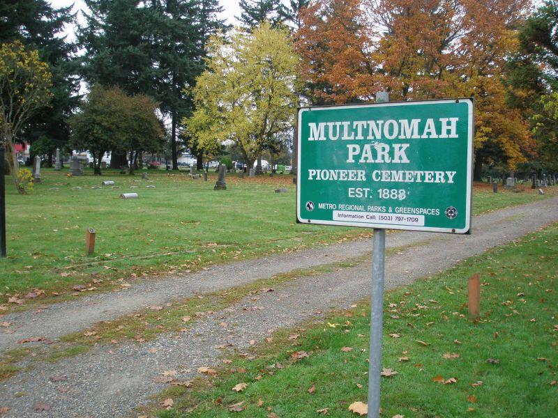 Multnomah Park Cemetery