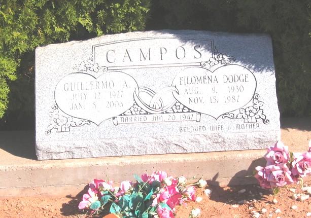 Guillermo A Campos