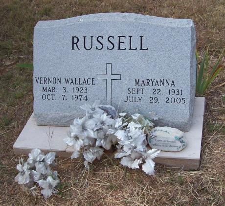 Maryanna <i>Miller</i> Russell