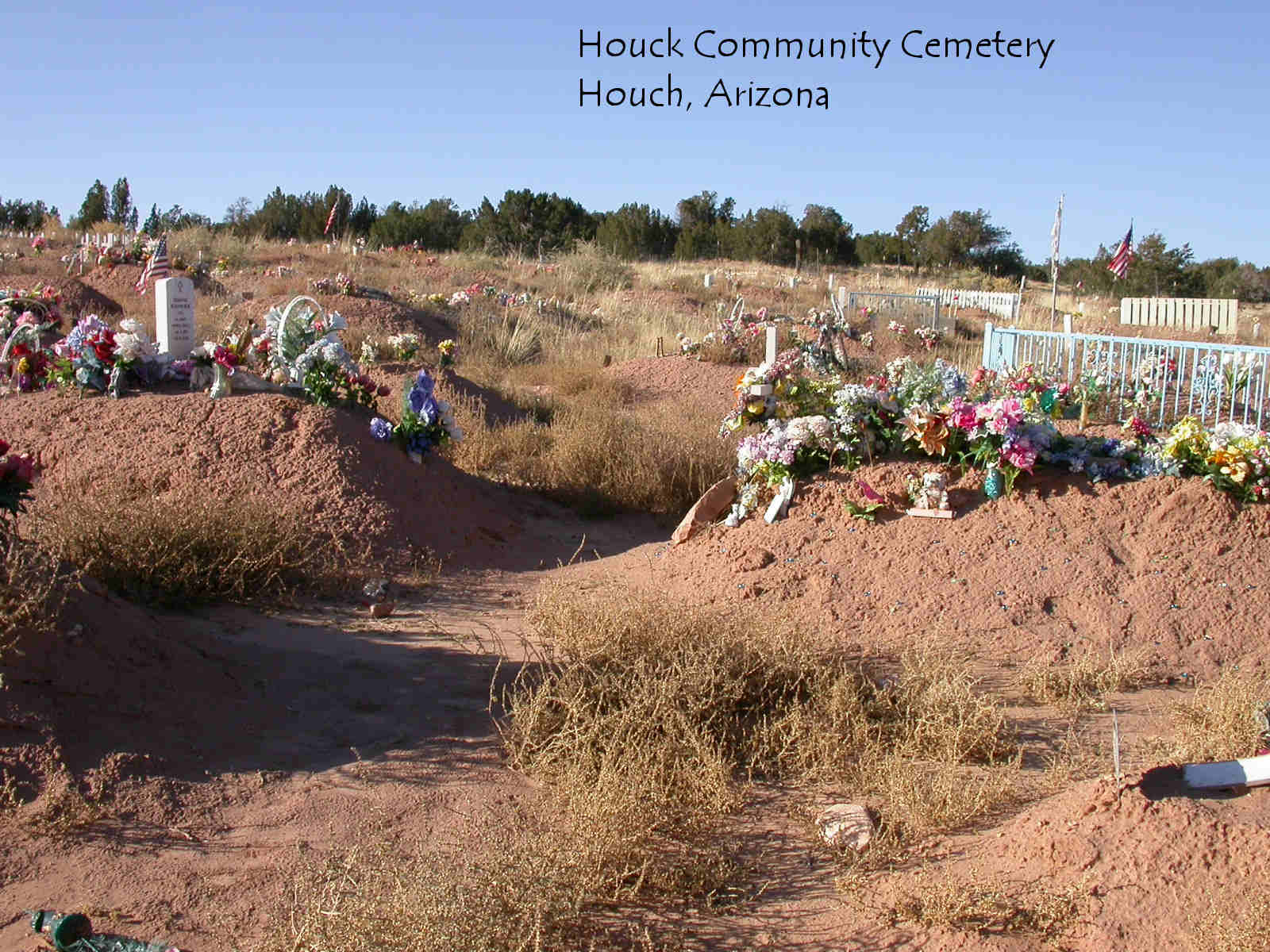 Houck Community Cemetery