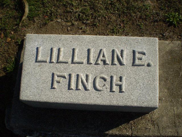 Lillian Estella <i>Pearce</i> Finch