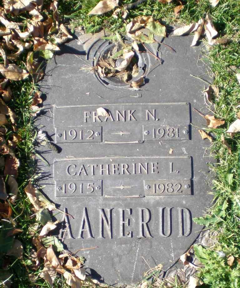 Catherine Louise <i>Malone</i> Aanerud