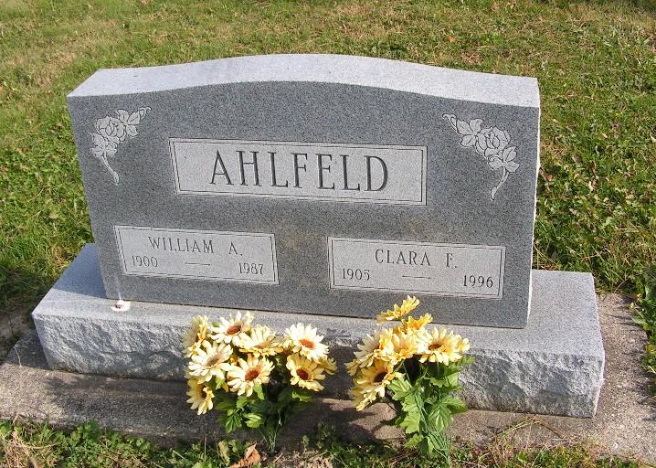 Clara Fannie <i>Pufahl</i> Ahlfeld