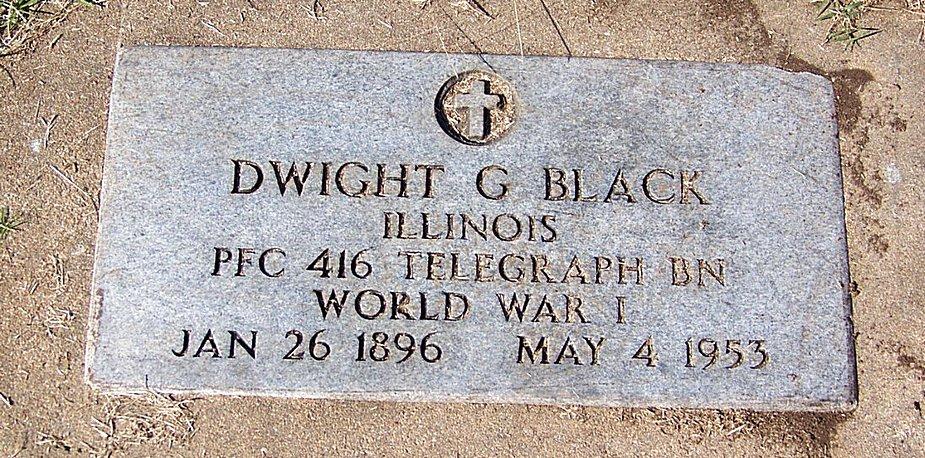 Dwight G Black