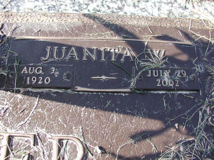 Juanita W. <i>Kerby</i> Vandiver
