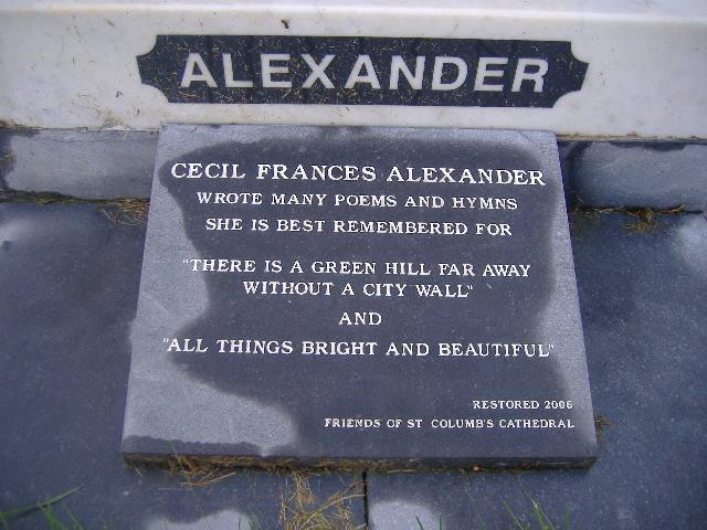 Cecil Frances <i>Humphreys</i> Alexander