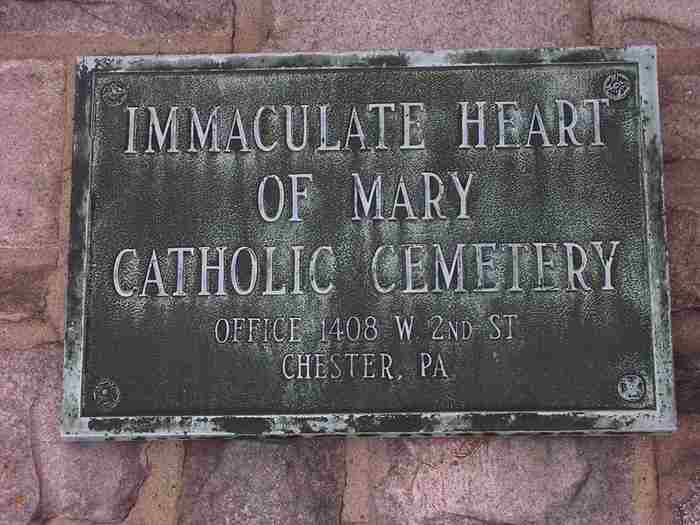 Immaculate Heart of Mary Catholic Cemetery