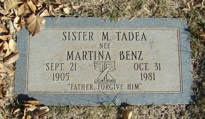 Image result for sister tadea benz