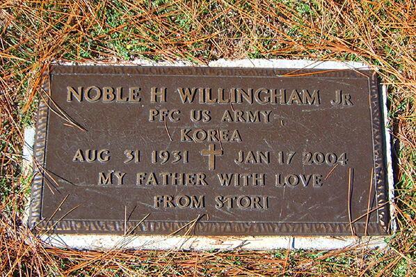 noble willingham funeral