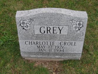 Charlotte Mae <i>Croll</i> Grey
