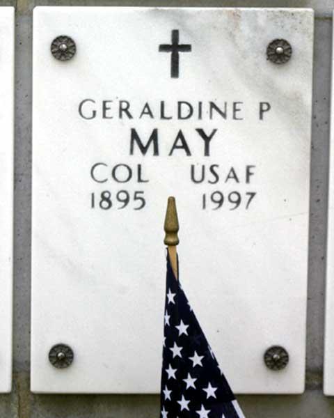 COL Geraldine Pratt May