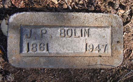 Jasper Pinkney Bolin, Jr