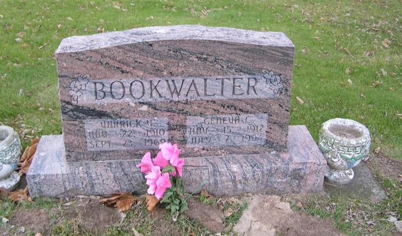 Varrick V Bookwalter