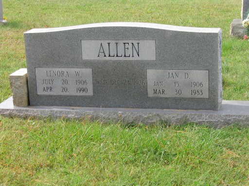 Lenora W. Allen