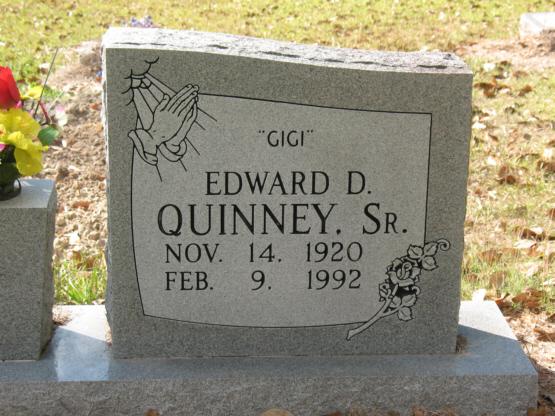 Edward Dock Quinney, Sr