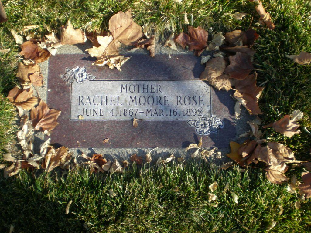 Rachel <i>Moore</i> Rose