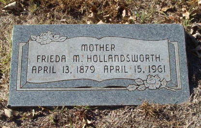 Frieda Marie <i>Hamann</i> Hollandsworth