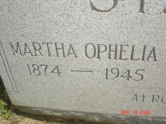 Martha Ophelia <i>Hodnett</i> Starr