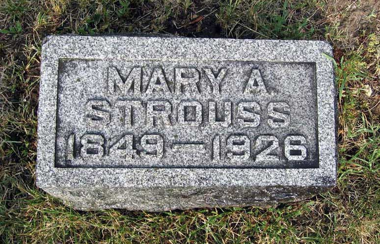 Mary Addie <i>Campbell</i> Strouss