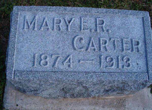 Mary E. <i>Redman</i> Carter