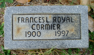 Frances Lucille <i>Royal</i> Cormier