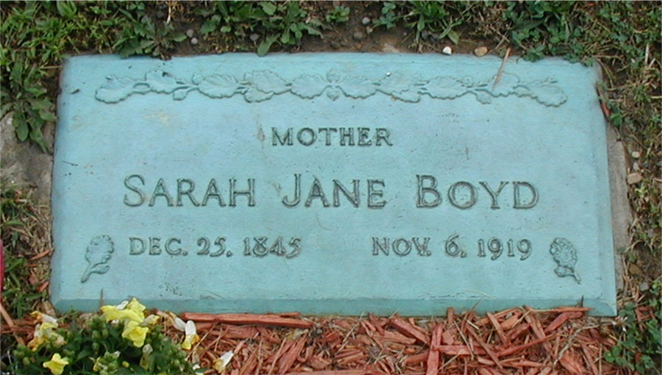 Sarah Jane <i>Stiffler</i> Boyd